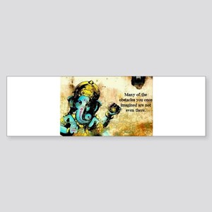 Ganesh Ganesha Hindu India Asian El Bumper Sticker
